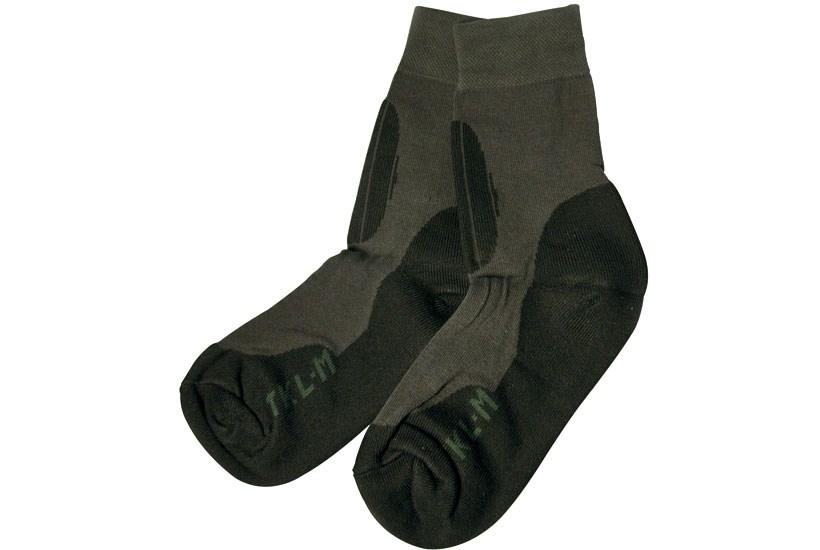 Helårssok TKL sort/grå, 1 par