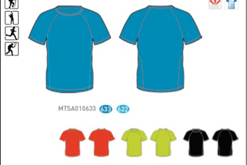 Blå Alpine Pro Ateo T-shirt