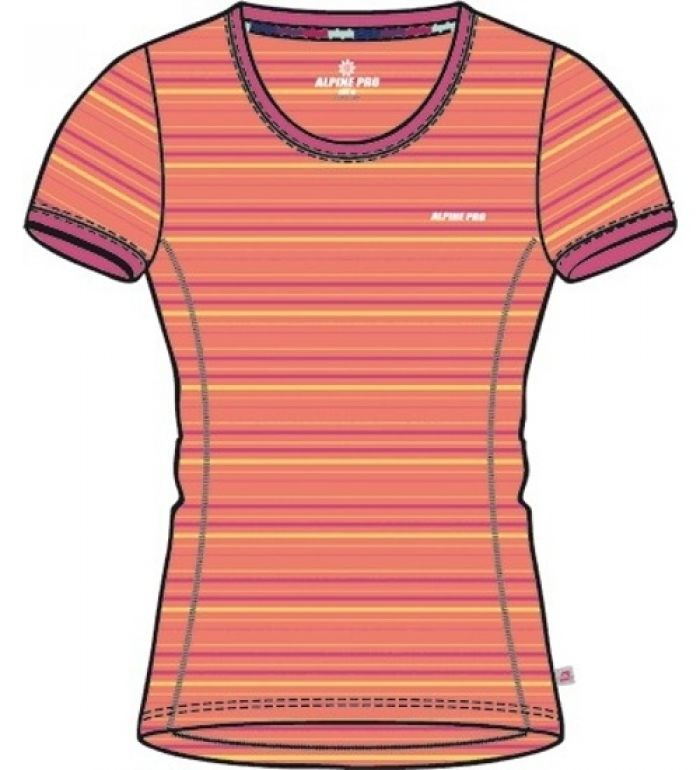 Alpine Pro Moiazza orange/pink