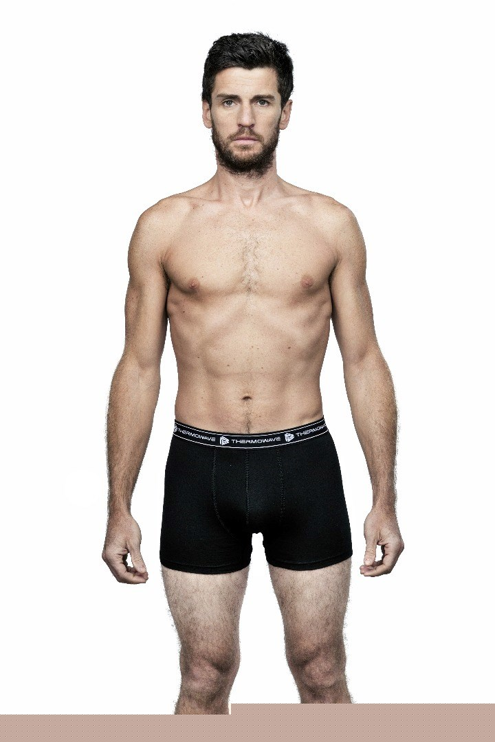 Thermowave Herre Boxer Merino sort