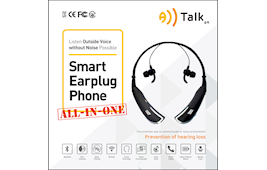 "SMART EARPLUG PHONE ""ALLTALK"""