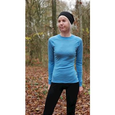 Thermowave Dame trøje merino lys blå